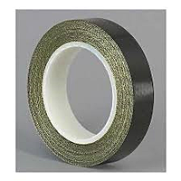 PTFE Coated Fiberglass Tape - Black