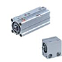 SMC Pneumatic Compact Square Air Cylinders